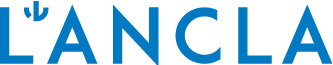 logo de botiga de banyadors modern, blau i en majúscules