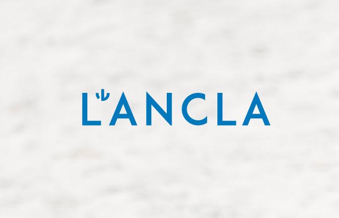 logo de botiga de banyadors blau en fons blanc
