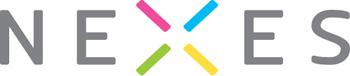 marca per viver d'empreses i coworking amb simbol de colors i lletres majúsucles i gris
