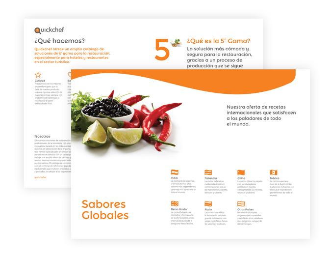 catàleg de serveis de restauració obert de sabors globals amb xile i lima